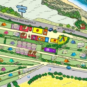 Camping Panorama mappa