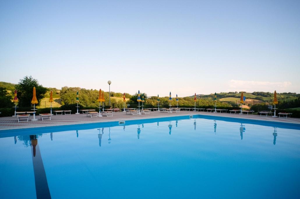 Camping Panorama piscina