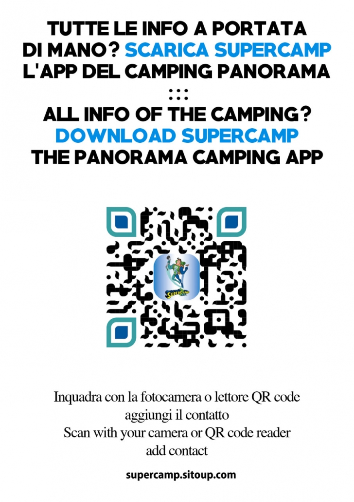Camping Panorama QR Code